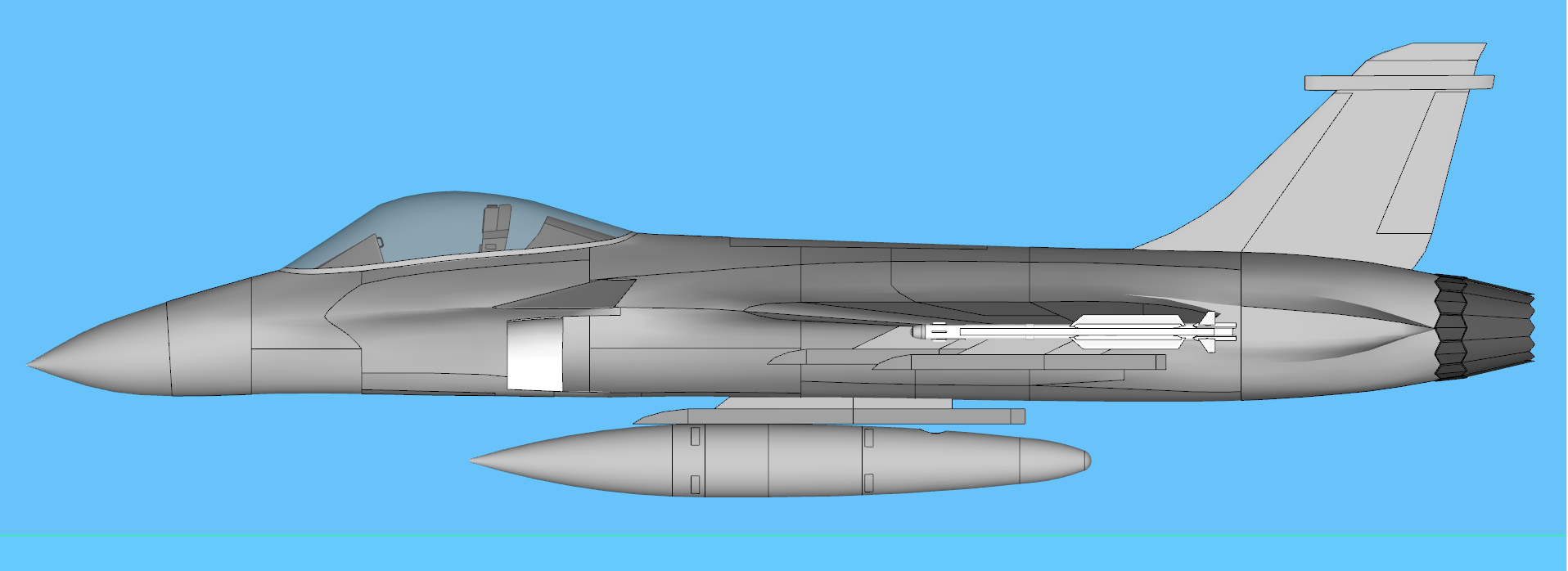 Air superiority fighter proposal 6 « Defense Issues