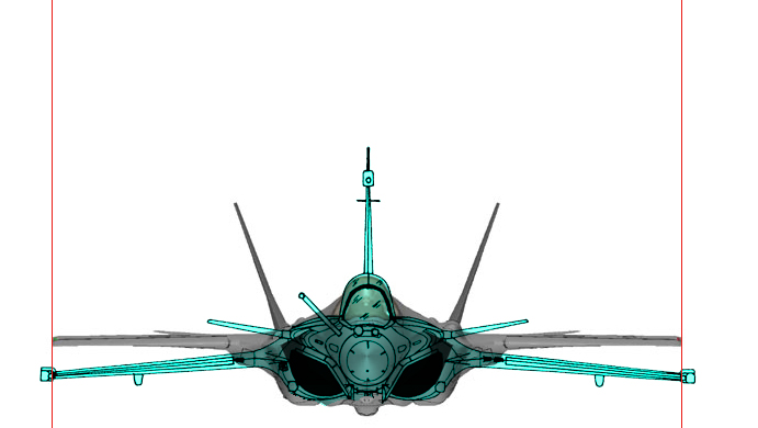 Rafale B & F-35A comp