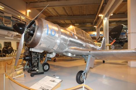 Valmet Vihuri (VH-18) Keski-Suomen ilmailumuseo.