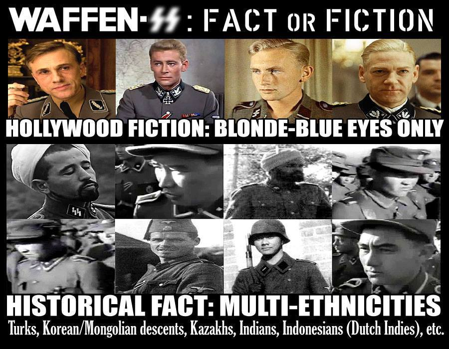 Nazi Racial Diversity 4